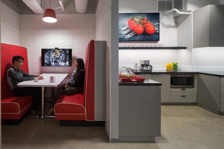 Дизайн маленького офиса от Kamus + Keller Interiors | Architecture в Калифорнии: кухня