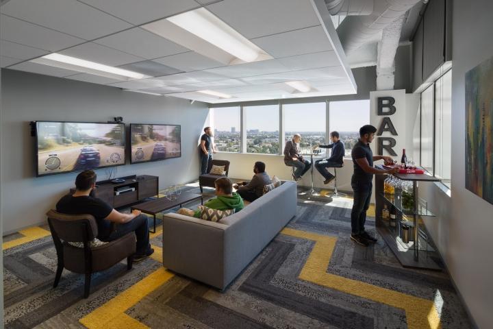 Дизайн маленького офиса от Kamus + Keller Interiors | Architecture в Калифорнии: игровая зона