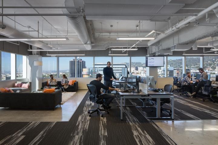 Дизайн маленького офиса от Kamus + Keller Interiors | Architecture в Калифорнии: зона отдыха