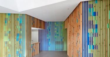 Игра красок плюс функциональность: дизайн медицинского офиса