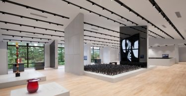 Дизайн музея стекла от студии Coordination Asia