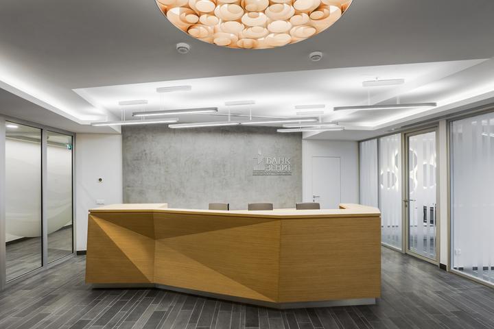 Современный дизайн офиса банка