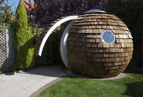 Дизайн офисного рабочего места: сферическое офисное помещение