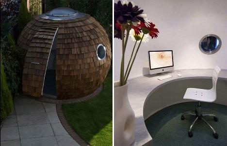 Дизайн офисного рабочего места: офис-под