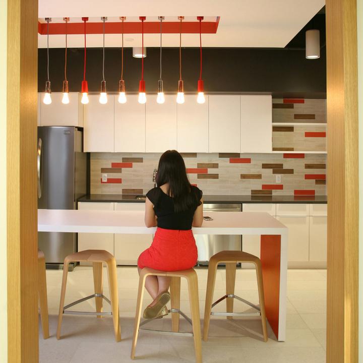 Минималистичный дизайн отделки офиса в Бостоне. Фото 1