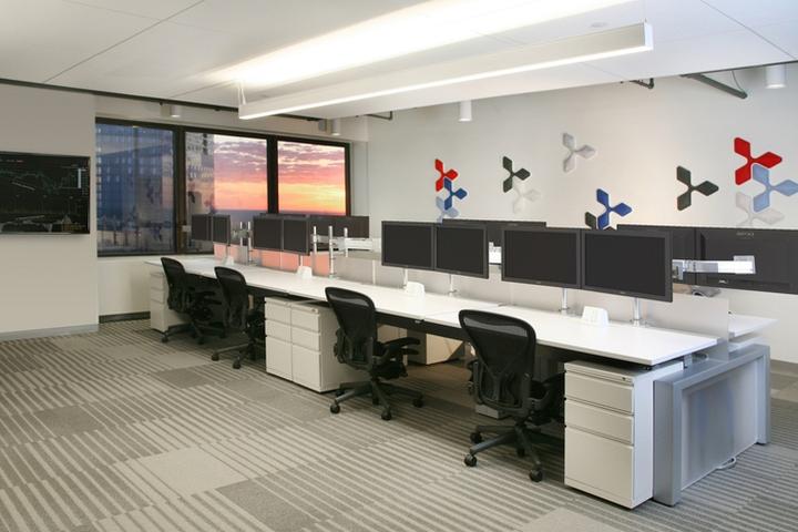 Минималистичный дизайн отделки офиса в Бостоне. Фото 2