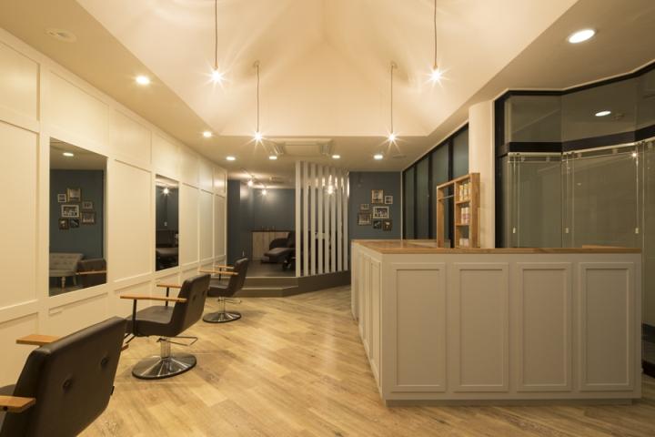 Дизайн парикмахерской: уютные места для стрижки