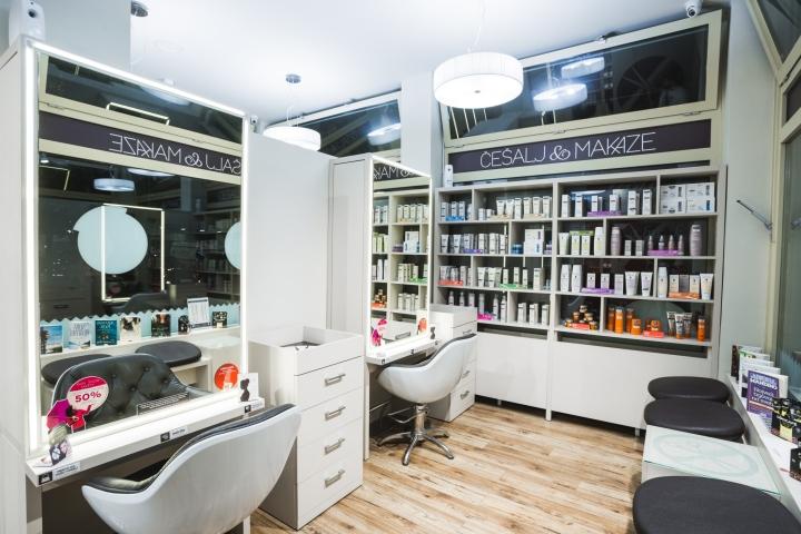 Современный дизайн парикмахерской - Фото 18