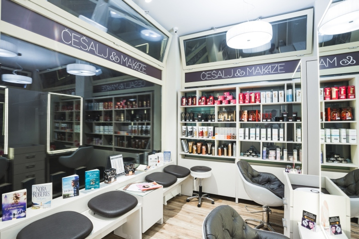 Современный дизайн парикмахерской - Фото 3