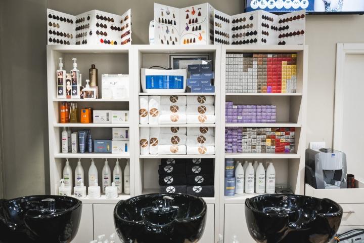 Современный дизайн парикмахерской - Фото 12