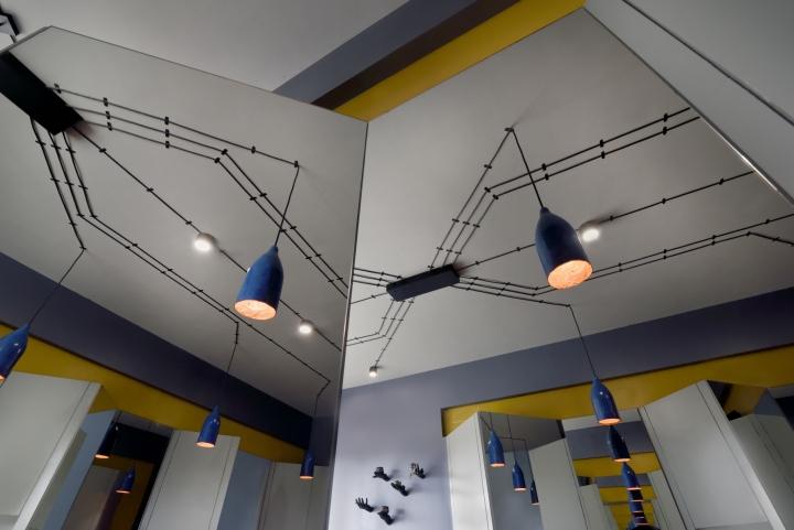Дизайнерские светильники в дизайне парикмахерской - Фото 3