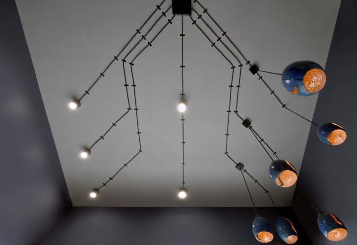 Дизайнерские светильники в дизайне парикмахерской - Фото 4