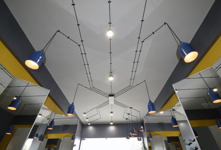 Дизайнерские светильники в дизайне парикмахерской - Фото 5