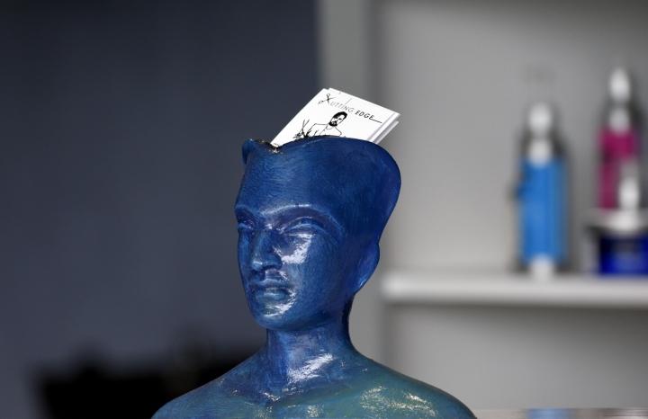 Авторский декор в дизайне парикмахерской - Фото 1