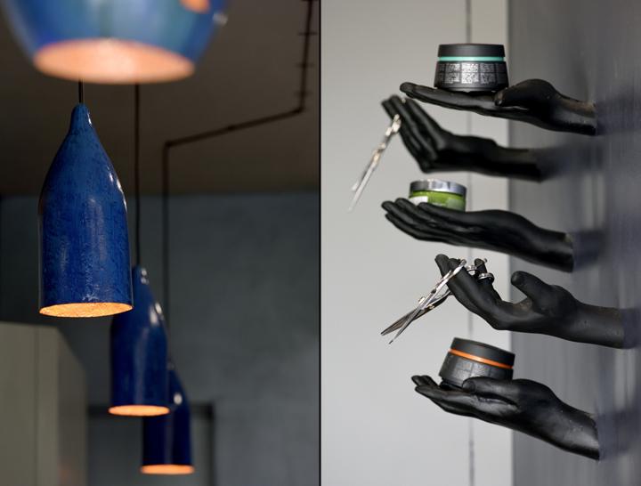 Авторский декор в дизайне парикмахерской - Фото 2