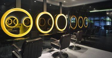 Дизайн парикмахерской с VIP-зоной