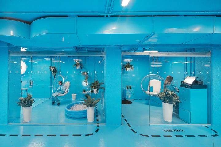 Дизайн-проект автомойки в Мадриде