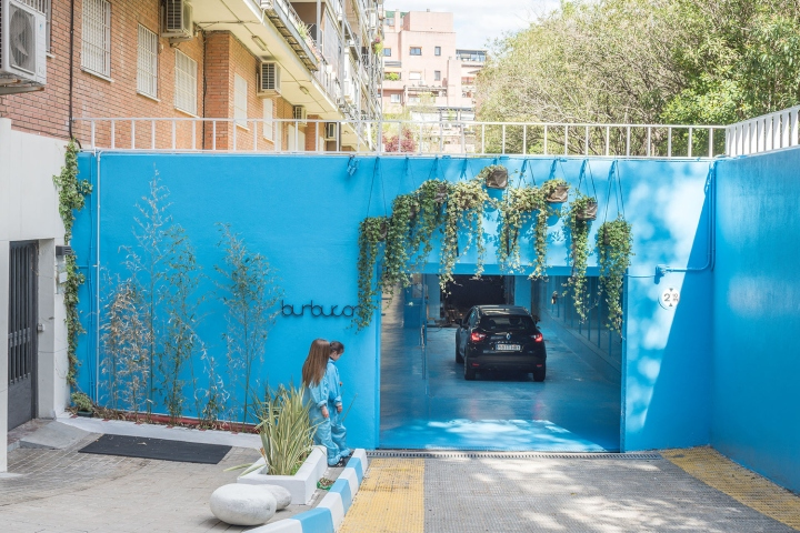Дизайн-проект автомойки в Мадриде. Фото 1