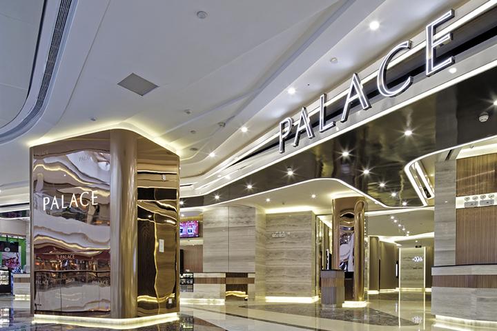 Дизайн-проект кинотеатра Palace Cinema в Китае