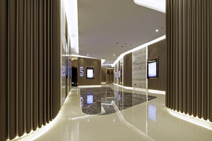 Дизайн-проект кинотеатра Palace Cinema в Китае: плавные линии