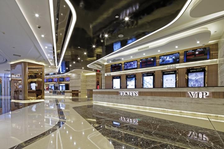 Дизайн-проект кинотеатра Palace Cinema в Китае. Фото 2