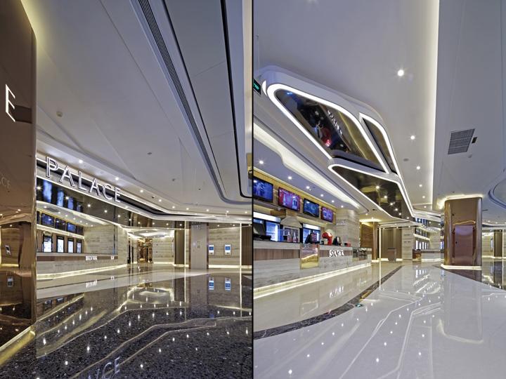 Дизайн-проект кинотеатра Palace Cinema в Китае. Фото 4