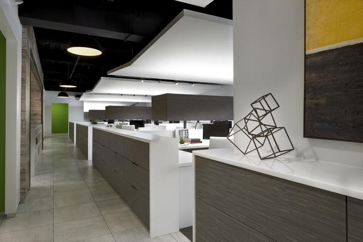 Дизайн-проект офиса в Иллиноисе, США