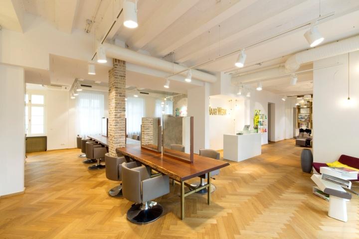 Дизайн салона краcоты Haarwerk