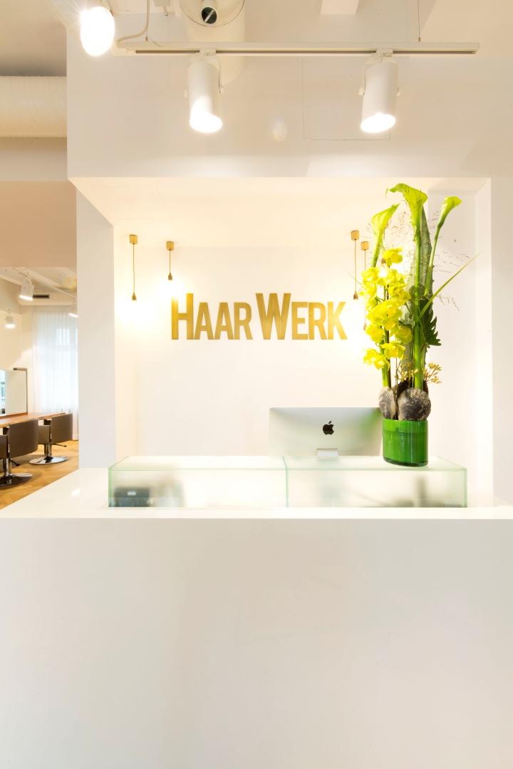 Ресепшен салона красоты Haarwerk
