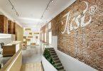 Необычный дизайн салона красоты от венгерской студии Sporaarchitects