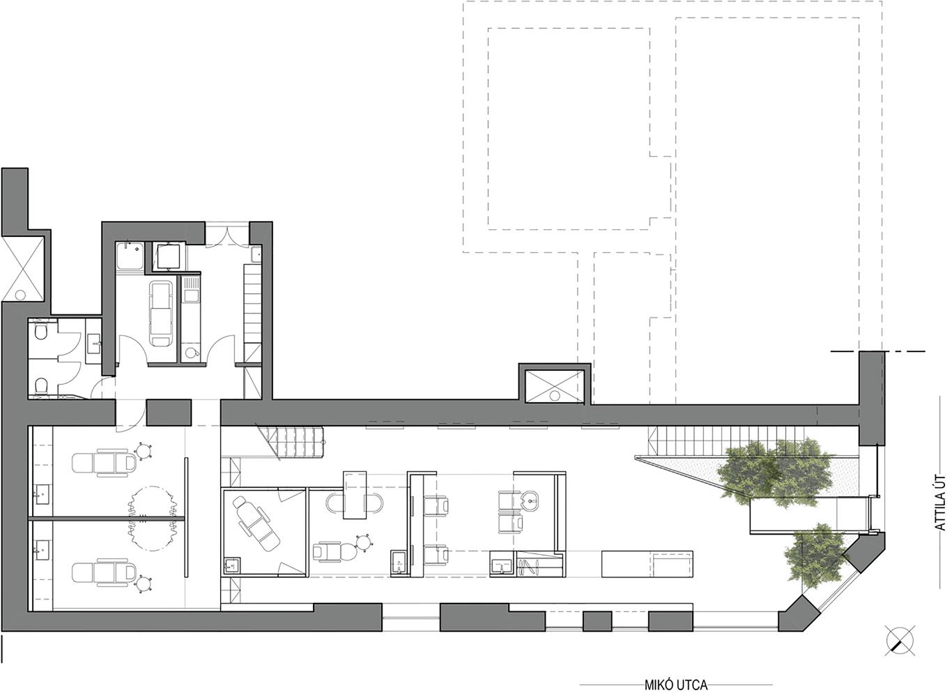 Схема помещения салона красоты