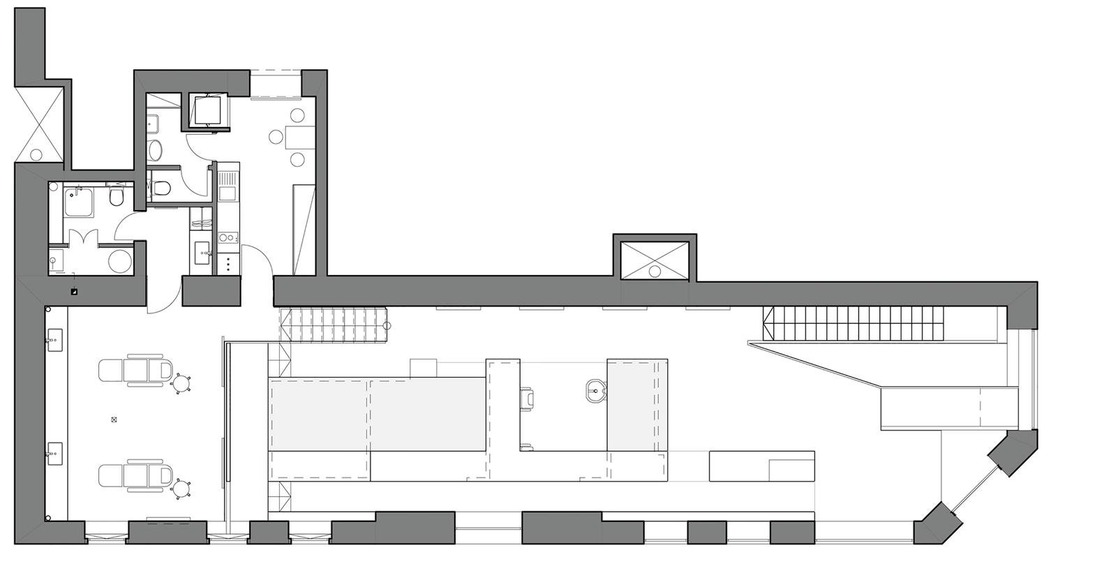 План-чертёж здания салона красоты - Фото 2