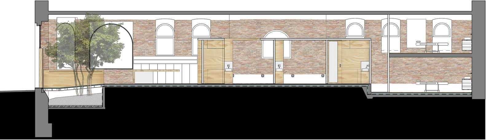 План-чертёж здания салона красоты - Фото 4