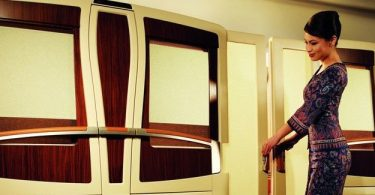 Дизайн самолёта компании Singapore Airlines для VIP-клиентов