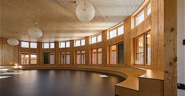 Дизайн школы: фото экологичного произведения искусства