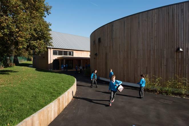 Дизайн школы: фото Leigh Simpson