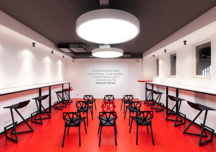 Дизайн школы: яркая аудитория