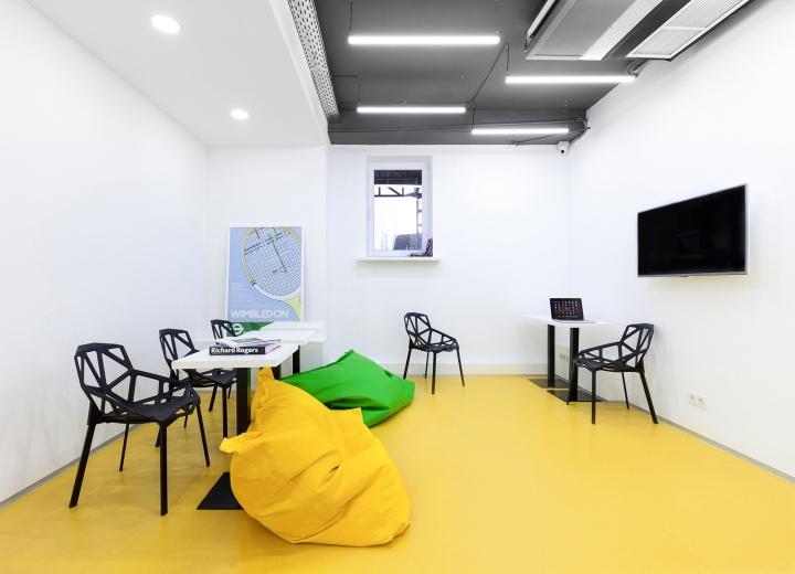 Дизайн школы: комната отдыха