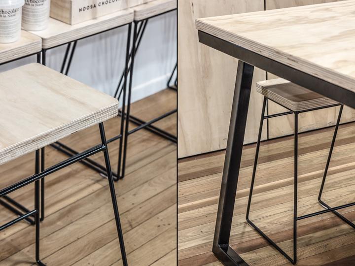 Дизайн фабрики шоколада – Мебель на тонких ножках