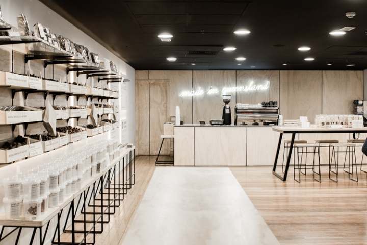 Дизайн фабрики шоколада в Австралии