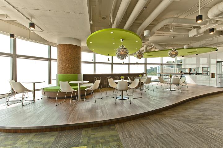 Уютное кафе в офисе Cyberport Smart-Space