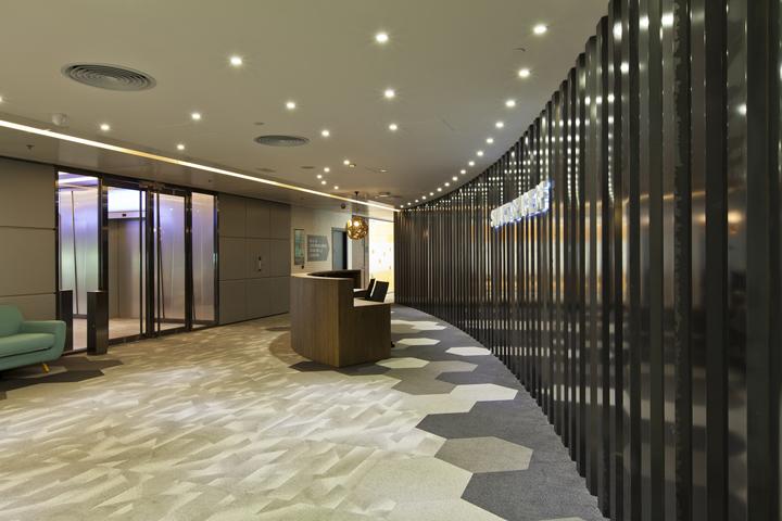 Дизайн штаб-квартиры Smart Space: комната для приёма посетителей