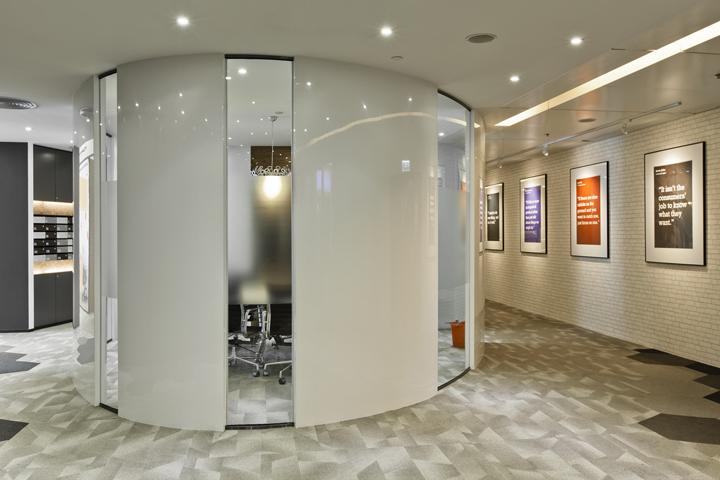 Необычные дизайн комнаты для собраний штаб-квартиры Smart Space