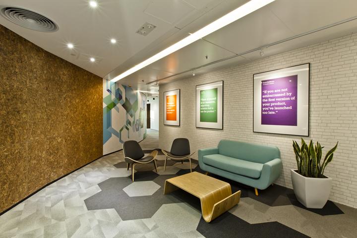 Дизайн штаб-квартиры Smart Space: уютный уголок для ожидания