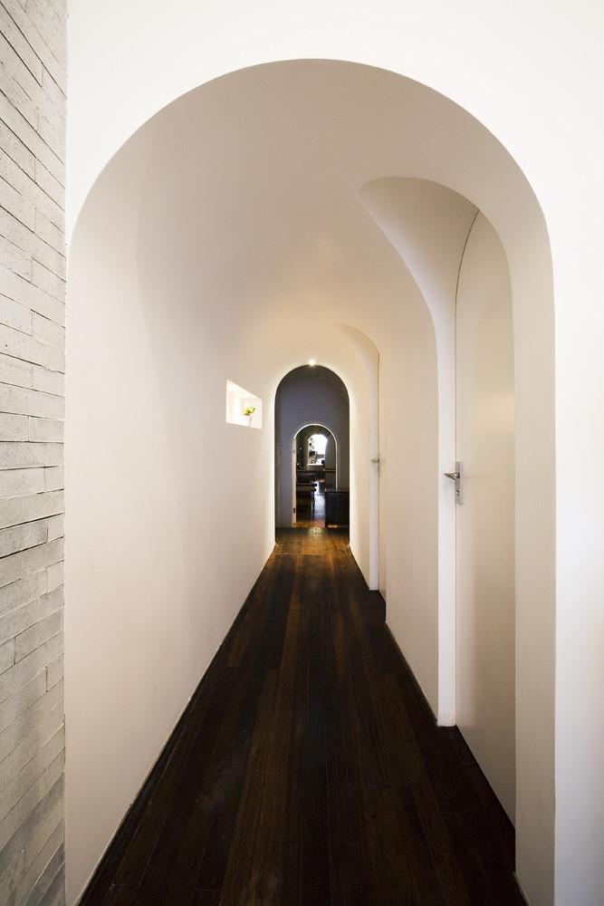 Дизайн спа-салона: закруглённые арки