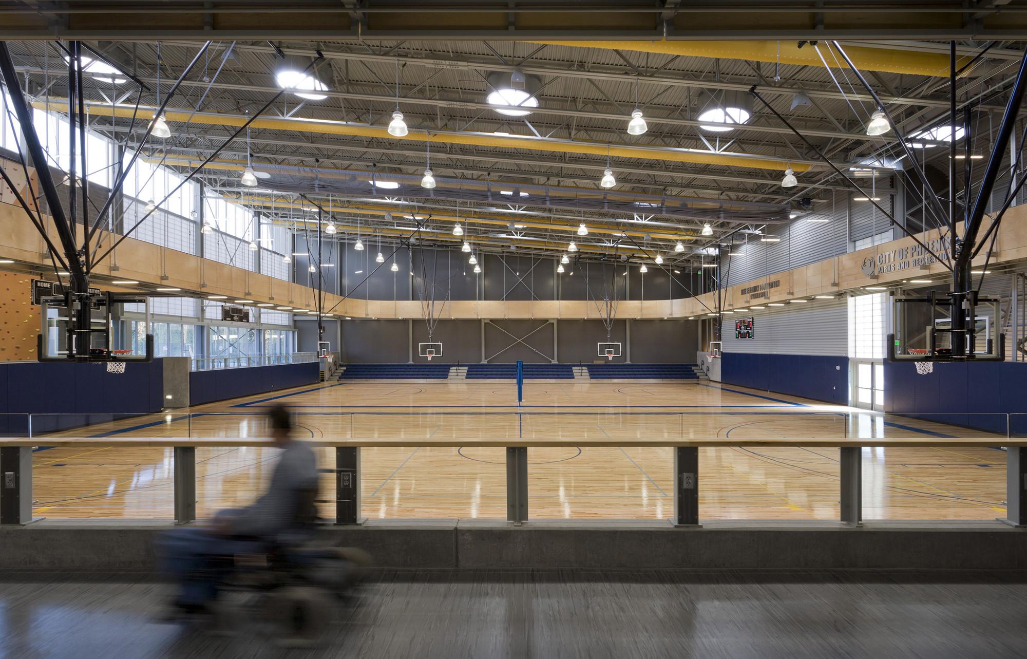 Дизайн спортивного комплекса: спортивный зал
