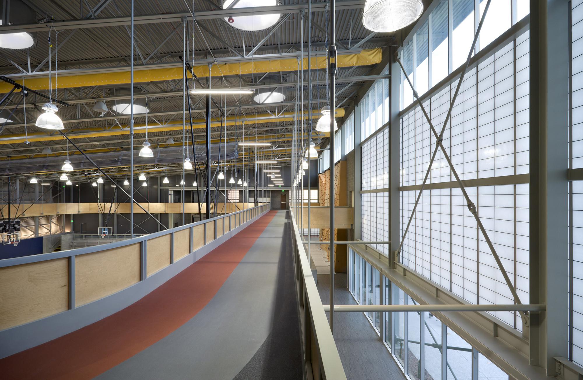 Дизайн спортивного комплекса: верхний уровень
