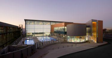 Дизайн спортивного комплекса в Аризоне