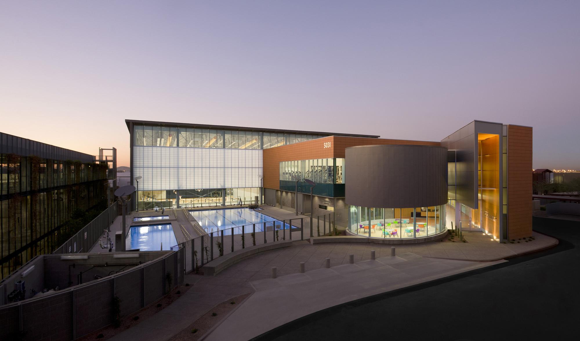 Дизайн спортивного комплекса
