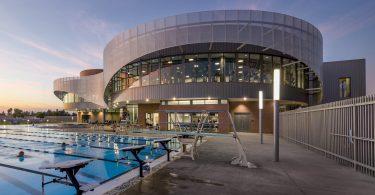 Дизайн спортивного комплекса в штате Калифорния